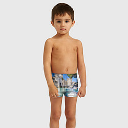 Плавки для мальчика Италия цвета 3D — фото 2