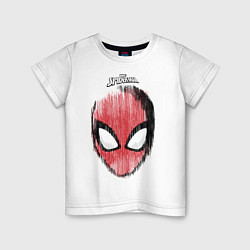 Футболка хлопковая детская Spider-Man цвета белый — фото 1