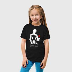 Футболка хлопковая детская Death Note цвета черный — фото 2
