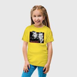 Футболка хлопковая детская ВандаВижен цвета желтый — фото 2