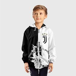 Ветровка с капюшоном детская Cristiano Ronaldo цвета 3D-белый — фото 2