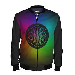 Бомбер мужской Coldplay Colour цвета 3D-черный — фото 1
