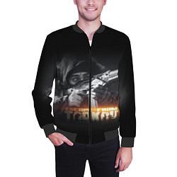 Бомбер мужской ESCAPE FROM TARKOV цвета 3D-черный — фото 2