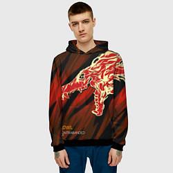Толстовка-худи мужская CS:GO Howl Style цвета 3D-черный — фото 2