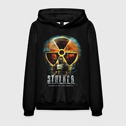 Толстовка-худи мужская STALKER: Shadow of Chernobyl цвета 3D-черный — фото 1