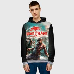 Толстовка-худи мужская Dead Island цвета 3D-меланж — фото 2