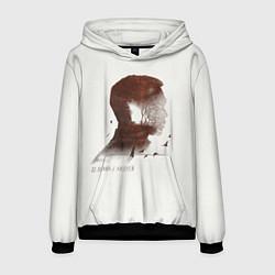 Толстовка-худи мужская Дельфин/Андрей цвета 3D-черный — фото 1