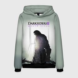 Толстовка-худи мужская Darksiders II: Death Lives цвета 3D-черный — фото 1