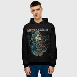 Толстовка-худи мужская Meshuggah: Violent Sleep цвета 3D-черный — фото 2
