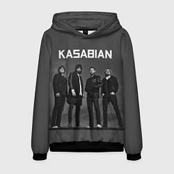 Толстовка-худи мужская Kasabian: Boys Band цвета 3D-черный — фото 1