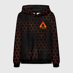 Толстовка-худи мужская Apex Legends: Orange Carbon цвета 3D-черный — фото 1