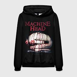 Толстовка-худи мужская Machine Head: Catharsis цвета 3D-черный — фото 1