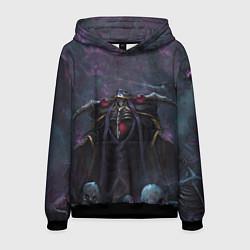 Толстовка-худи мужская Overlord цвета 3D-черный — фото 1
