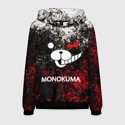 Толстовка-худи мужская MONOKUMA цвета 3D-черный — фото 1