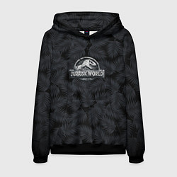 Толстовка-худи мужская Jurassic World цвета 3D-черный — фото 1