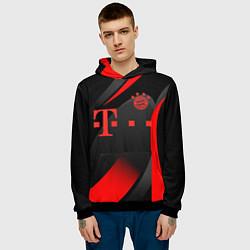 Толстовка-худи мужская FC Bayern Munchen цвета 3D-черный — фото 2