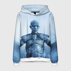 Толстовка-худи мужская GoT The Night King цвета 3D-белый — фото 1
