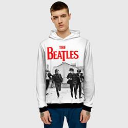 Толстовка-худи мужская The Beatles: Break цвета 3D-черный — фото 2