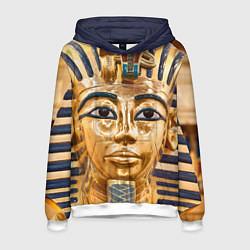 Толстовка-худи мужская Фараон цвета 3D-белый — фото 1