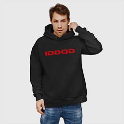 Толстовка оверсайз мужская IDDQD Doom цвета черный — фото 2