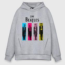 Мужское худи оверсайз Walking Beatles
