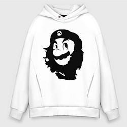 Толстовка оверсайз мужская Che Mario цвета белый — фото 1