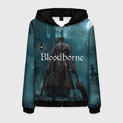 Толстовка 3D на молнии мужская Bloodborne цвета 3D-черный — фото 1