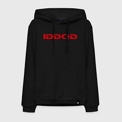 Толстовка-худи хлопковая мужская IDDQD Doom цвета черный — фото 1