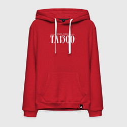 Толстовка-худи хлопковая мужская Taboo: Denzel Curry цвета красный — фото 1