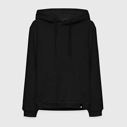 Толстовка-худи хлопковая мужская Санкт-Петербург EVLTN цвета черный — фото 1