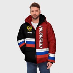 Куртка зимняя мужская Volgograd, Russia цвета 3D-черный — фото 2