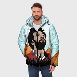 Куртка зимняя мужская Salah: Egypt King цвета 3D-черный — фото 2