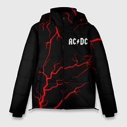 Куртка зимняя мужская AC DС цвета 3D-черный — фото 1