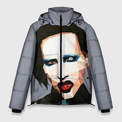 Куртка зимняя мужская Mаrilyn Manson Art цвета 3D-черный — фото 1