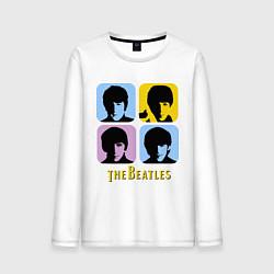 Мужской лонгслив The Beatles: pop-art
