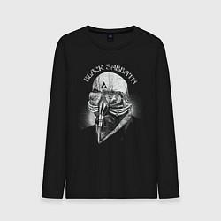 Лонгслив хлопковый мужской Black Sabbath: The Ultimate Collection цвета черный — фото 1