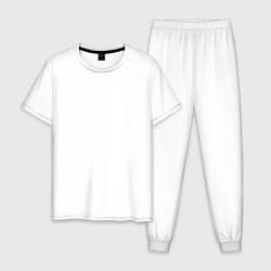 Пижама хлопковая мужская Sayonara Boy цвета белый — фото 1