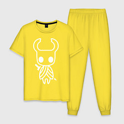 Пижама хлопковая мужская Hollow Knight: Minimalism цвета желтый — фото 1