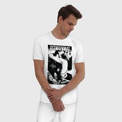 Пижама хлопковая мужская Scorpions цвета белый — фото 2