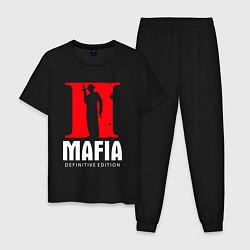 Пижама хлопковая мужская MAFIA 2 DEFINITIE EDITION цвета черный — фото 1