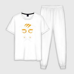Пижама хлопковая мужская Dokkaebi Rainbow Six Арт 01 цвета белый — фото 1