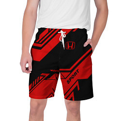 Шорты на шнурке мужские Honda: Techno Sport цвета 3D — фото 1