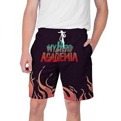 Шорты на шнурке мужские Моя Геройская Академия цвета 3D-принт — фото 1