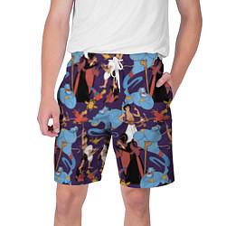 Шорты на шнурке мужские Aladdin цвета 3D-принт — фото 1