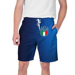 Шорты на шнурке мужские Сборная Италии цвета 3D-принт — фото 1