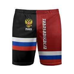 Шорты спортивные мужские Transbaikalia, Russia цвета 3D — фото 1
