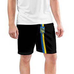 Шорты спортивные мужские Украина цвета 3D — фото 2