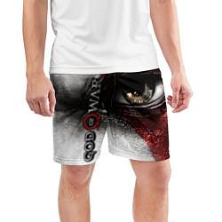 Шорты спортивные мужские God of War: Kratos цвета 3D — фото 2