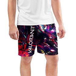 Шорты спортивные мужские VALORANT цвета 3D — фото 2