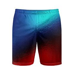 Мужские спортивные шорты Синий и красный